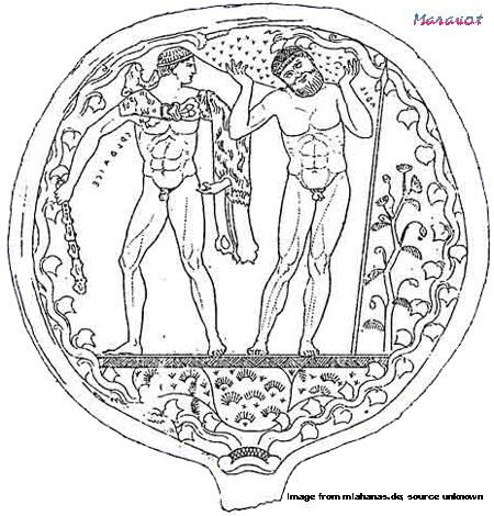 Translation of Etruscan short inscriptions