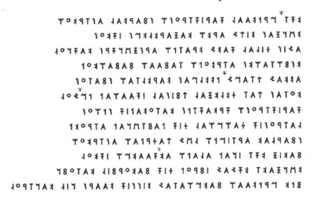 Translation of the Lydian language, Part II