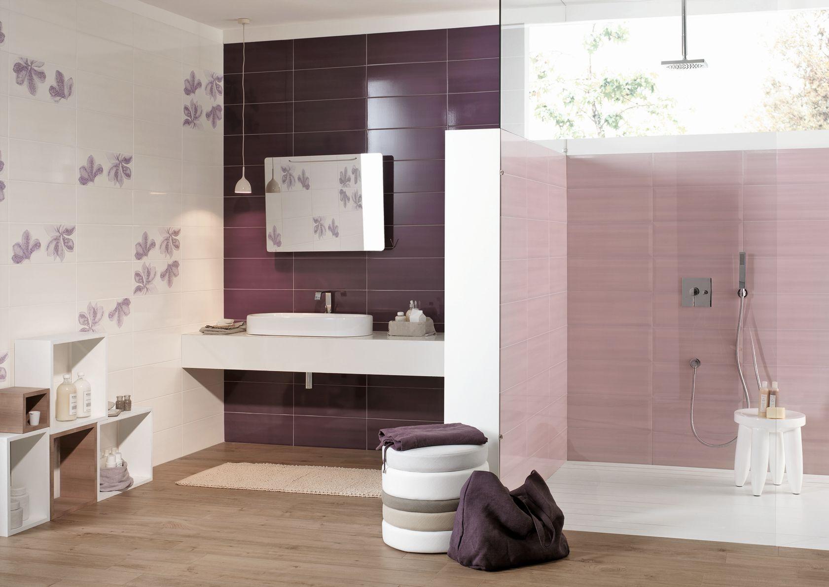 Azulejos violeta mira las colecciones  Marazzi