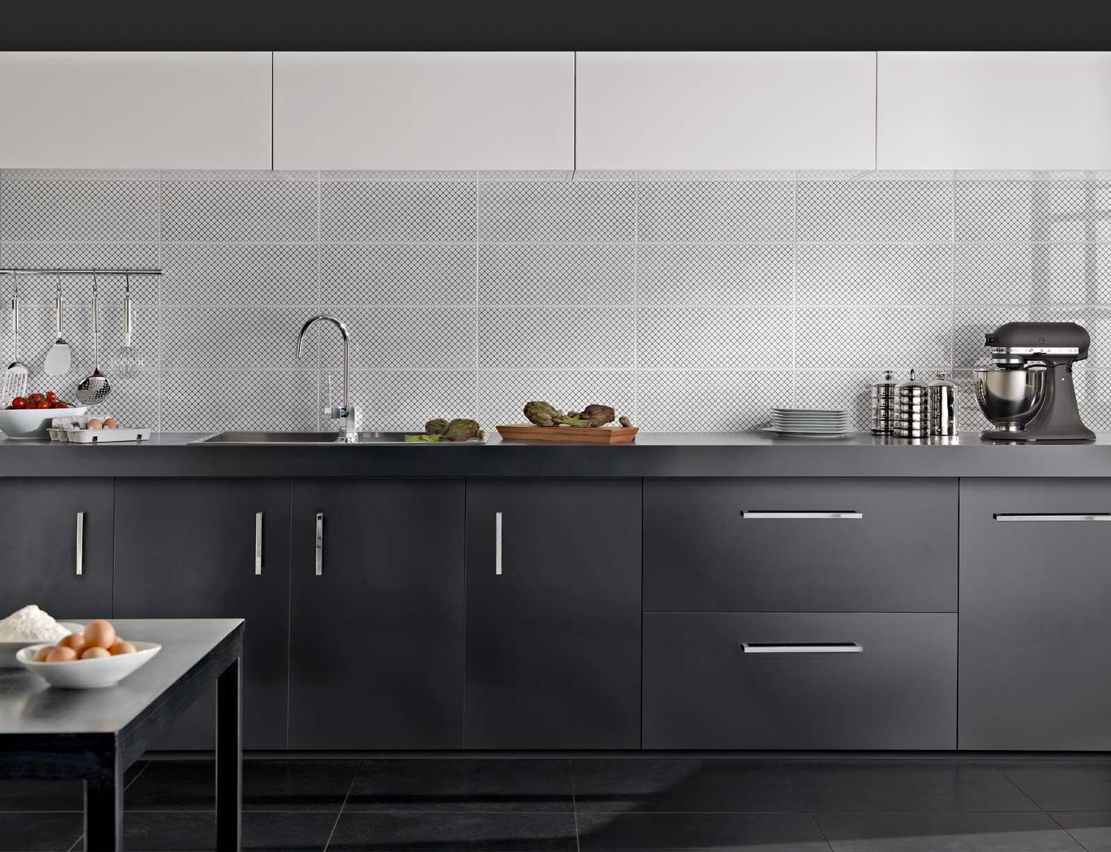 BlackWhite  Piastrelle per bagno e cucina  Marazzi