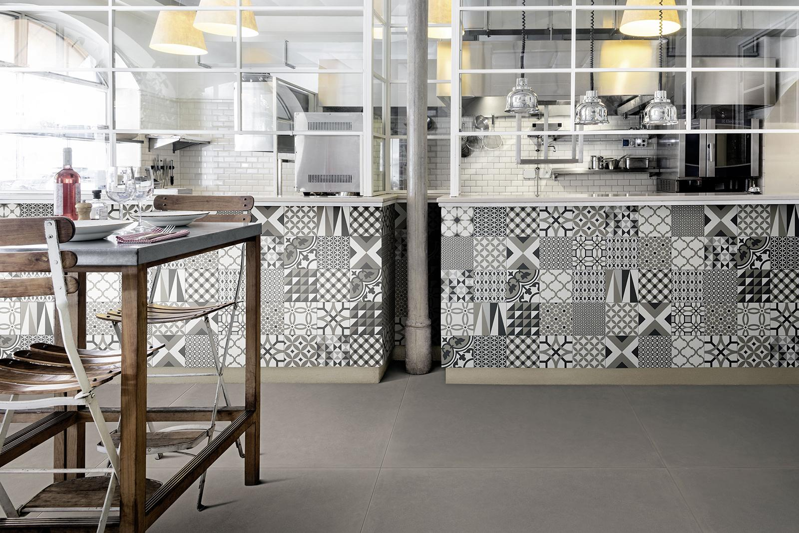 D_Segni cement tiles small sizes with great appeal  Marazzi