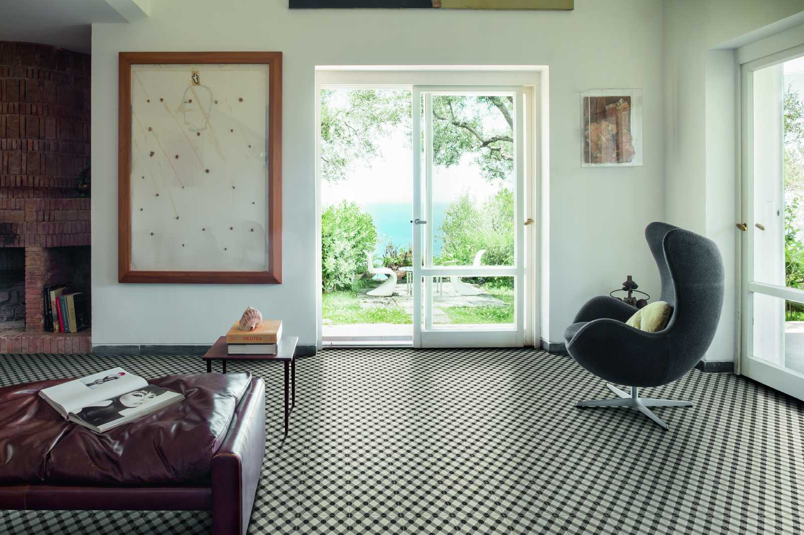 D_Segni collection Stoneware Handmade Cement Tiles  Marazzi
