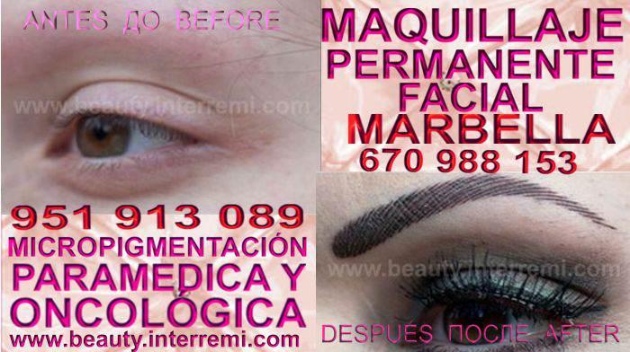 microblading cejas Marbella en la clínica estetica entrega Delineados or microblading en Marbella y Marbella