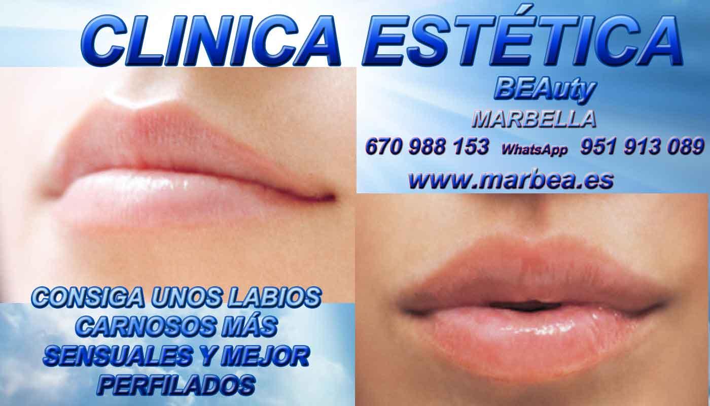 reducir para quitar arrugas ojos sin cirugia aumento de labios Cádiz