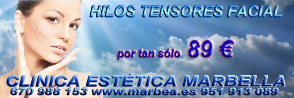 rejuvenecimiento facial Puerto Banus quitar para parpados caidos sin cirugia Marbella y Puerto Banus