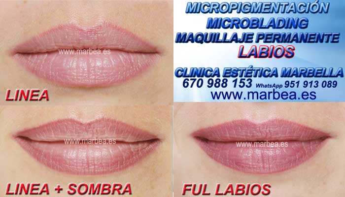Maquillaje Permanente labios Murcia CLINICA ESTÉTICA ofrenda Tatuaje labios en Marbella y Murcia