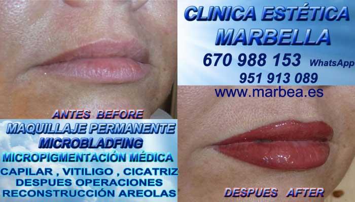 Pigmentacion labios Marbella, CLINICA ESTÉTICA ofrenda Microblading labios 3D Marbella y en Marbella