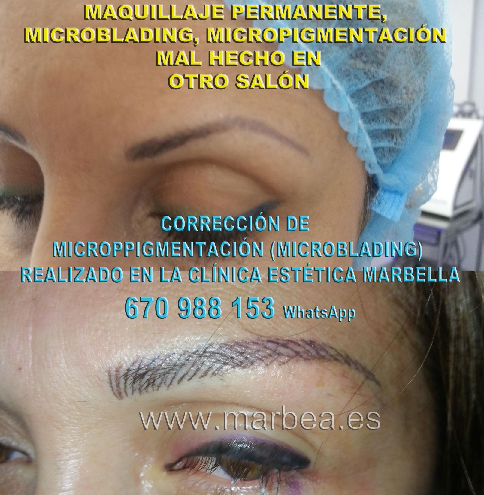 MAQUILLAJE PERMANENTE CEJAS MAL HECHO clínica estética tatuaje propone como aclarar la micropigmentación cejas,corregir micropigmentación mal hecha