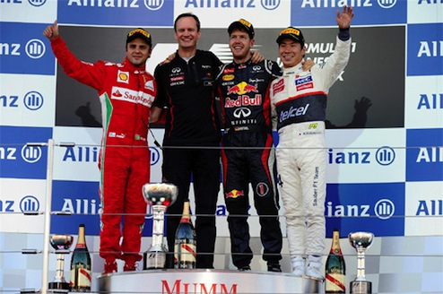 2012F1日本GP決勝