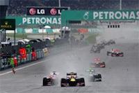 2013F1マレーシアGP決勝