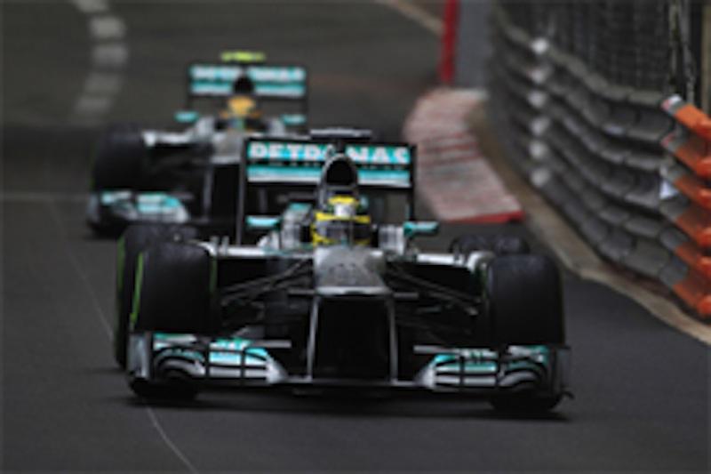 2013年F1モナコGP予選メルセデスAMG
