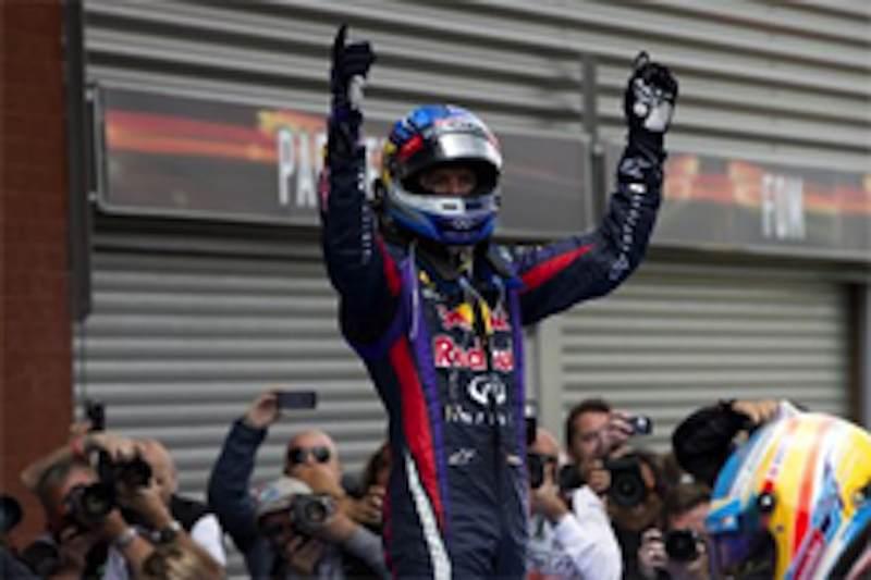 F1 2013 ベルギー 決勝