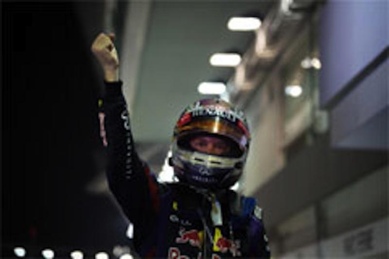 F1 2013 シンガポール 決勝