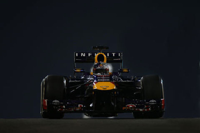 F1 2013 アブダビ FP2