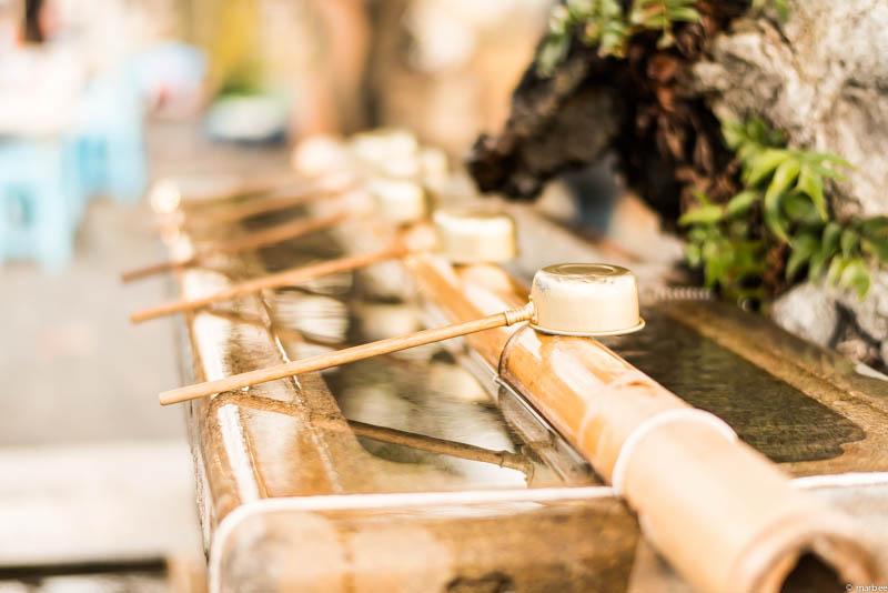 上野公園 清め水