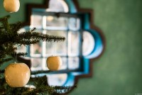 ベーリック・ホール クリスマスの飾り付け