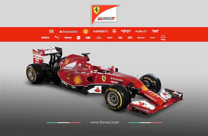 フェラーリ F14T 斜め前
