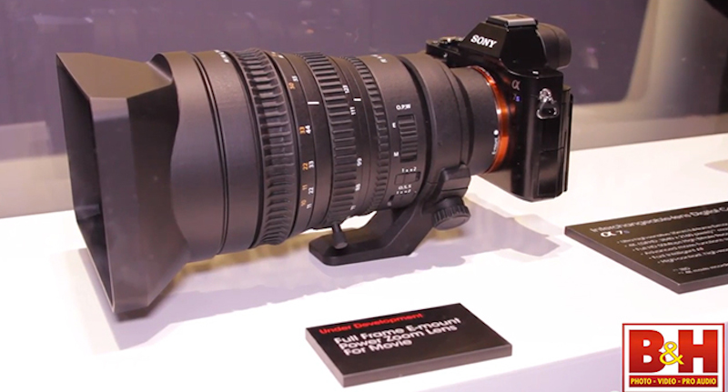 SONY FE 28-135mm F4 Powerzoom