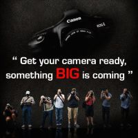 "Canon India Teaser For ""Something Big"" That's Coming"