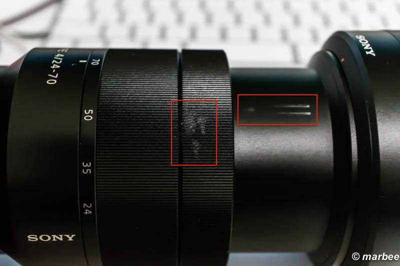クラッシュ Zeiss VarioTessa24-70mmF4
