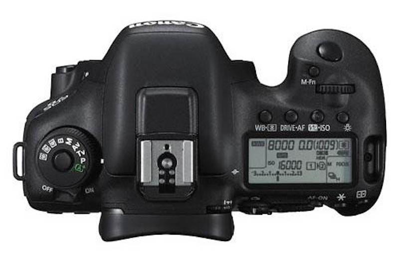Canon EOS 7DMarkⅡ 上面