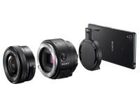 SONY レンズスタイルカメラQX1 海外発表