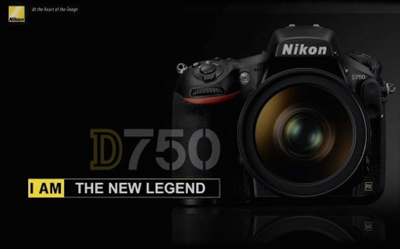 Nikon D750 フェイク画像