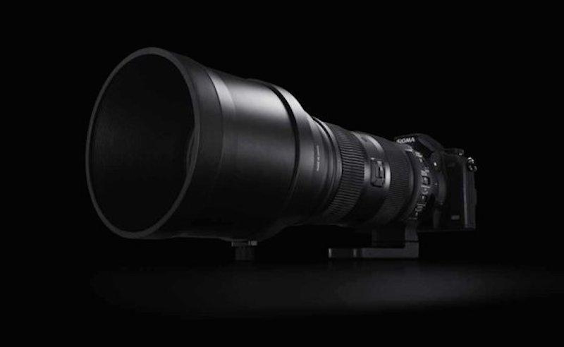 SIGMA 150-600mm F5-6.3 DG OS HSM 正面