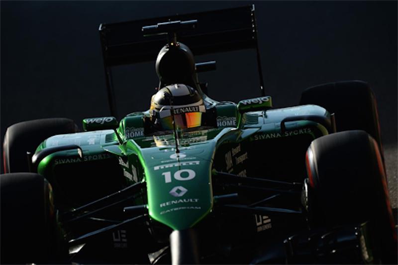 F1 2014 アブダビ 予選 可夢偉