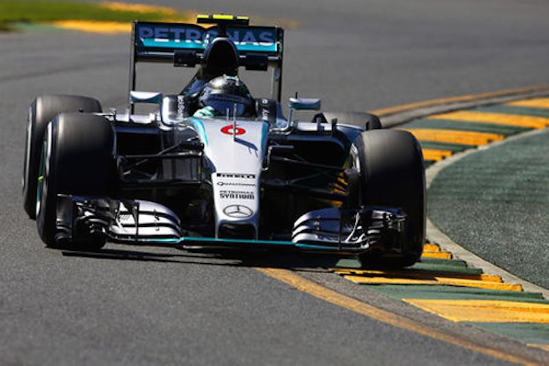 F1オーストラリアGP フリー走行2回目:ニコ・ロズベルグがトップタイム