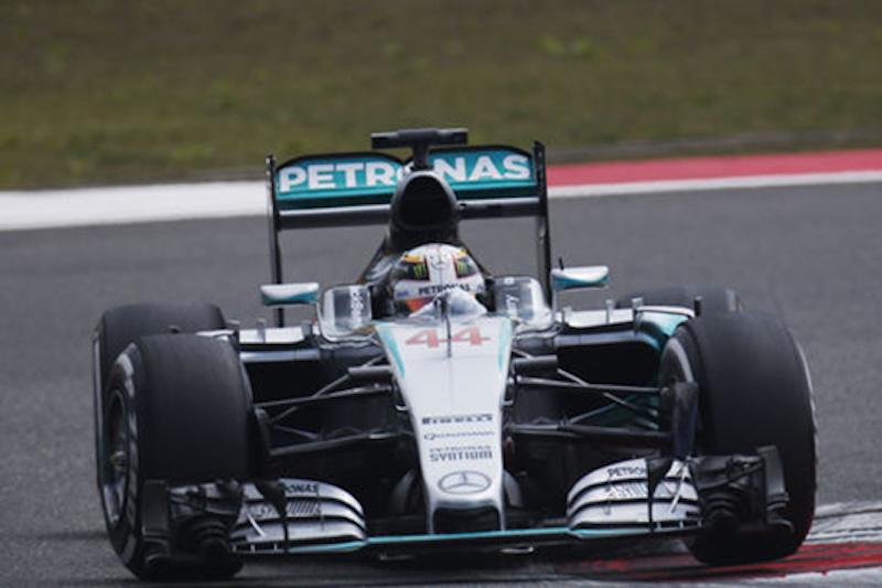 F1 2015 中国 FP2
