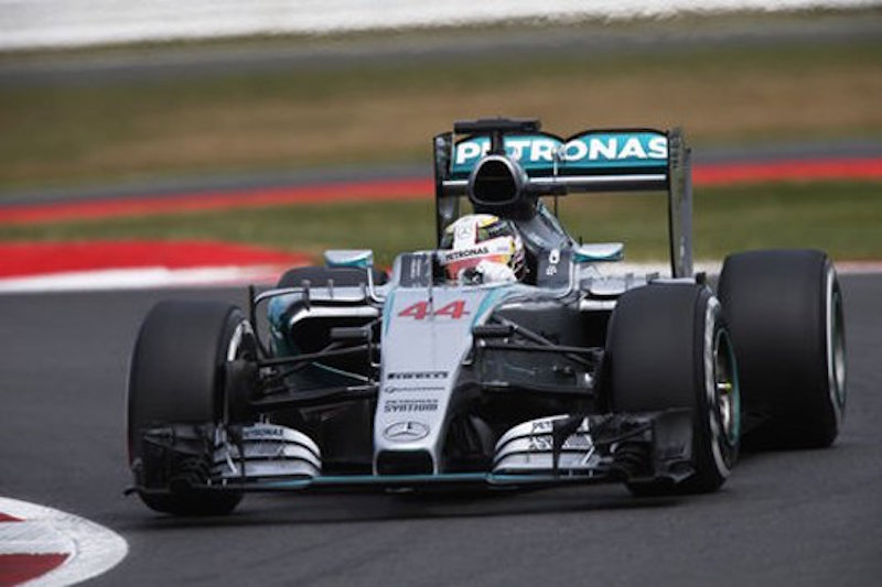 F1 2015 イギリス 予選
