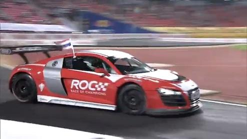 ロマン・グロージャン、レース・オブ・チャンピオンズで優勝