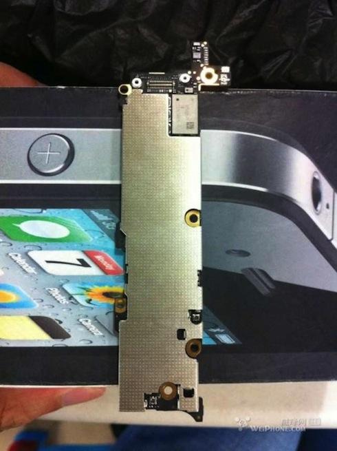 iPhone5ロジックボード前