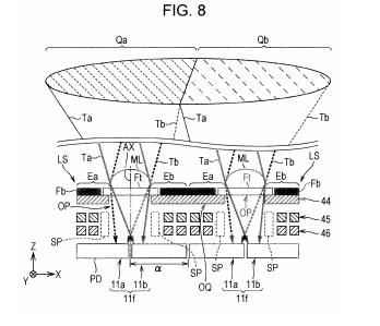 SONYの像面位相差AF特許