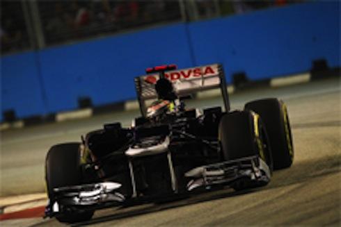 2012F1シンガポールGP予選