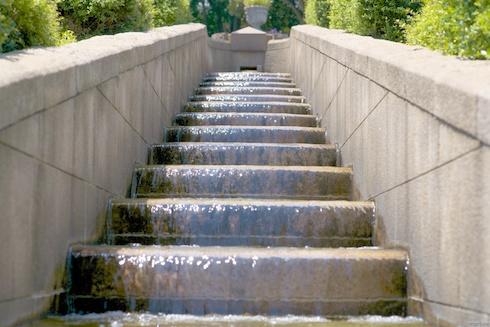 港の見える丘公園水階段