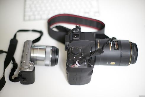 SD1MerrillとNEX-5