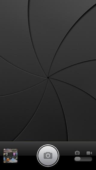 iPhoneのカメラのアニメーション