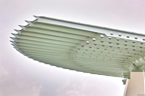 展望台の屋根