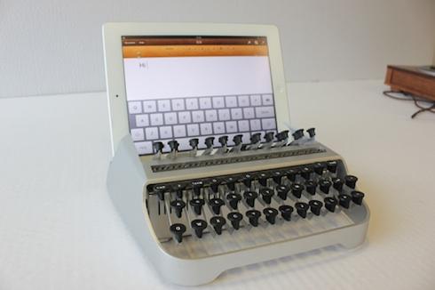 iPadワンオフタイプライター