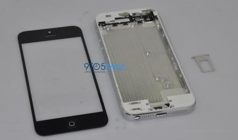 新しいiPhoneの部品