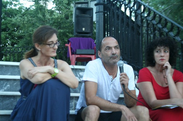 Manuel Rodríguez 'Lolo', toma la palabra en la asamblea del 21 de agosto