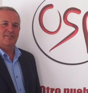 El portavoz de OSP, Rafael Piña