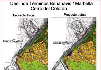 Planos del deslinde entre Marbella y Benahavís