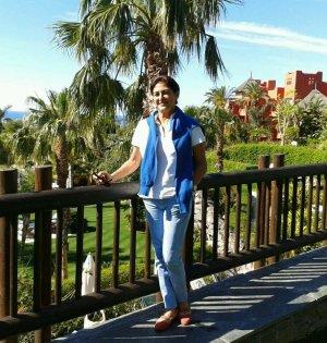 La hasta ahora directora del área de Medio Ambiente y Limpieza Viaria, Alicia Amate, en imagen de archivo. Foto/ Twitter.