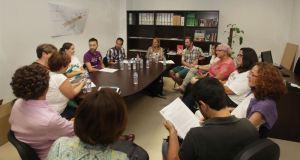 Imagen del encuentro entre representantes municipales y colectivos LGTB de Marbella. Foto/ Europa Press/ Ayto de Marbella