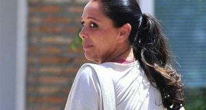 La cantante Isabel Pantoja captada al regresar a prisión en imagen de archivo. Foto/ EUROPA PRESS