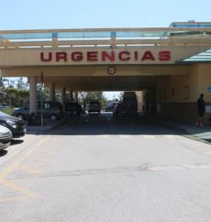 Imagen de la entrada a las Urgencias del Hospital Costa del Sol de Marbella.