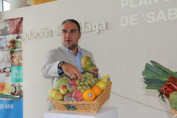 El presidente de la Diputación, Elías Bendodo, este martes durante la rueda de prensa de Sabor a Málaga. Foto/ Europa Press